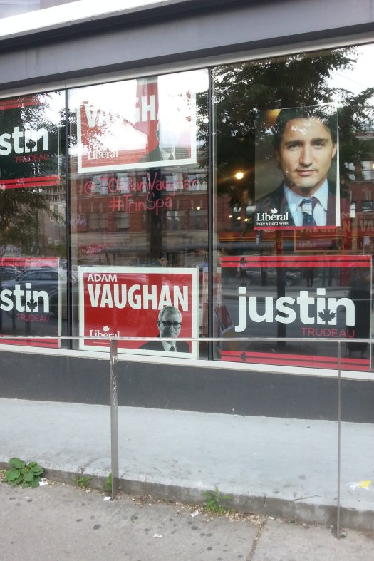 politics - watch for dreamboat Justin Trudeau