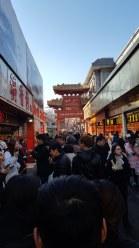 'Snack Street' near Wangfujing