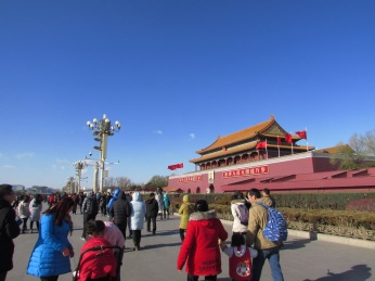 Entering the Forbidden City